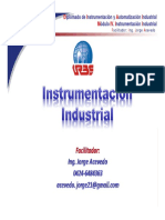 01 Instrumentación Industrial Unidad I JAAP