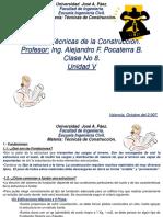 Clase No 8 Fundaciones Directas, Aisladas y Combinadas. Unidad v Con Analisis de Suelo 2