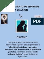 DISCERNIMIENTO DE ESPIRITUS Y ELECCION.pptx