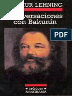 Lehning - Conversaciones con Bakunin