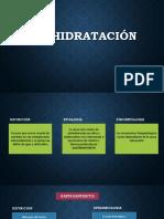 Deshidratación XII