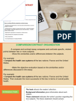 UNIT 3 - Comparison and Contrast Essays