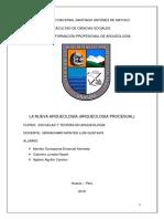 La Nueva Arqueologia Monografia