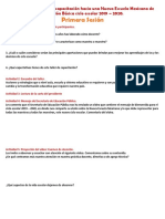 Productos Taller Nueva Escuela Mexicana Ciclo 2019 - 2020