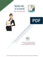 Informe de Resultados distribuidora LAP