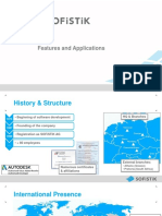 Sofistik Features and Applications Architecture