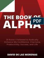 [David de Las Morenas] the Book of Alpha- 30 Rules