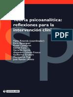 Teoría psicoanalítica. Reflexiones para la intervención clínica - Pablo Rivarola