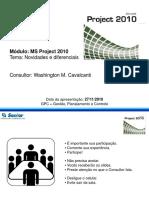 MS-Project Novidades e diferenciais Nov-2010