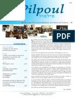 Pilpoul 20 - Yechiva des étudiants / Paris