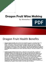 Dragon Fruit Wine Making