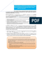 Anexo 03 Modelo Acta de Constitución de La OC, Estatutos y Comité Electoral