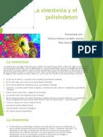 La sinestesia y el polisíndeton.pptx