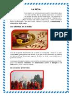 Costumbres de La India