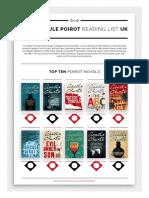 Poirot Reading List