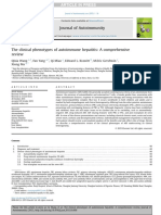 The Clinical Phenotypes of Autoimmune Hepatitis a Comprehensive