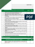 Lista de Chequeo HSE Para Contratistas