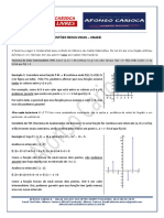 Análise Matemática - Uneb - Soluções Em 02 Ago 2019