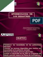 Clase 13 - Epidemiología de Los Desastres