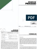Sydney Sanches - Objeto do processo e objeto litigioso do processo.pdf