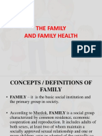 Chapter 1 - The Family and the Family Health