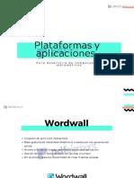 Plataformas y aplicaciones
