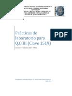 Practicas QOIII 2020-I