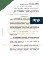 vinculación a proceso PDF