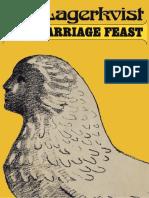 Lagerkvist, Pär - Marriage Feast & Other Stories (Hill & Wang, 1982)