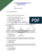 Examen General de Farmaco