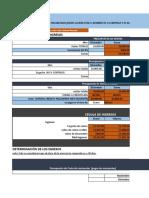 Edgar Mendez Presupuesto
