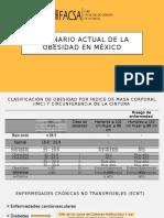 Escenario Actual de La Obesidad en México