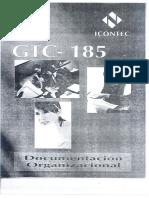 Gtc-185 Documentacion Organizacional (1a Parte)