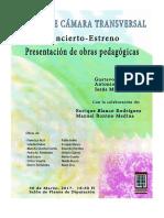 Dossier Musica de Camara Transversal Badajoz