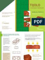 Como construir com tijolo ecologico