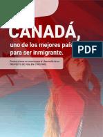CANADÁ, uno de los mejores países para ser inmigrante.