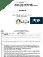 Plan Preescolar 2016