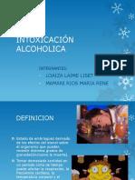 Intoxicación Alcoholica
