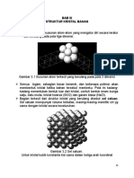 Struktur kristal pada logam