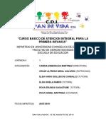 JORNADA DE CURSO DE LA NIÑEZ