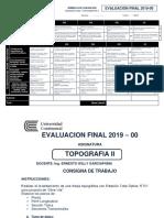 Rúbrica Evaluacion Final 2019 00