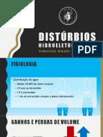 DISTÚRBIOS HIDRELETROLITICOS