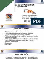 16VA EXP  POLÍTICAS DE ESTABILIZACIÓN.pptx