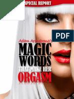 Magic Words Orgasm