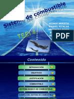sistema de combustible aeronautico