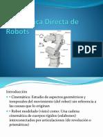 Cinemática Directa de Robots
