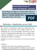 Medication Safety Pasien pediatri