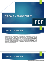 Capa 4 - Transporte