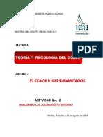 Act. 2 Teoría y Psicología Del Color Gamboa Patricia