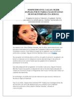 Feminicidio en El Callao